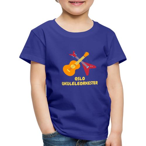 Oslo Ukuleleorkester sin t-shorte - Premium T-skjorte for barn