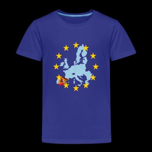 EU Spain (Europa Spanien) - Kinder Premium T-Shirt