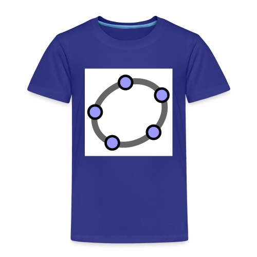 GeoGebra Ellipse - Kids' Premium T-Shirt