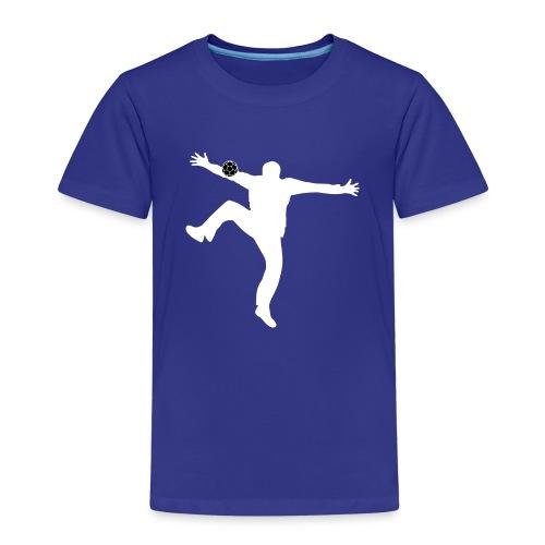 Silhouette Gardien Handball - T-shirt Premium Enfant