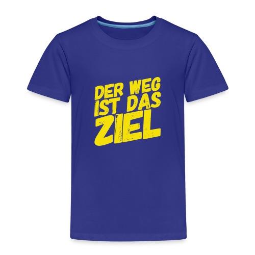 Der Weg ist das Ziel - Kinder Premium T-Shirt