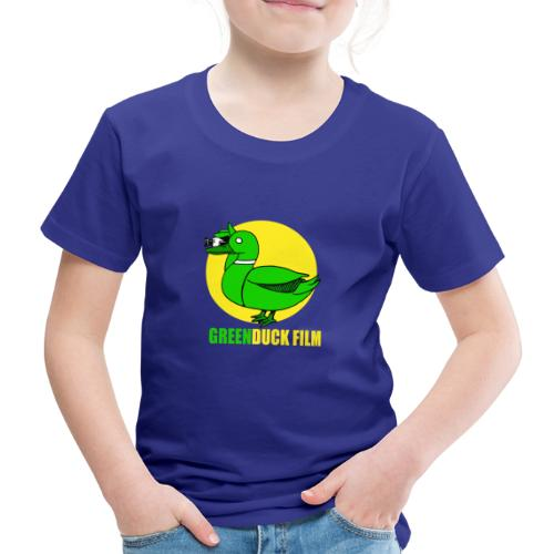 Greenduck Film In the Sun Logo - Børne premium T-shirt