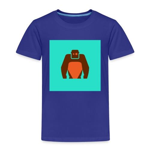 KielerKletterKeller e V Button Orange - Kinder Premium T-Shirt