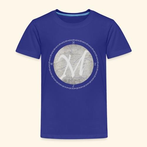 Montis logo - Premium-T-shirt barn