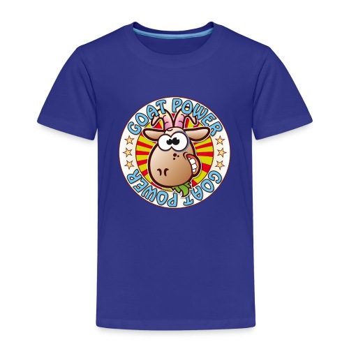 Goat Power - Kids' Premium T-Shirt