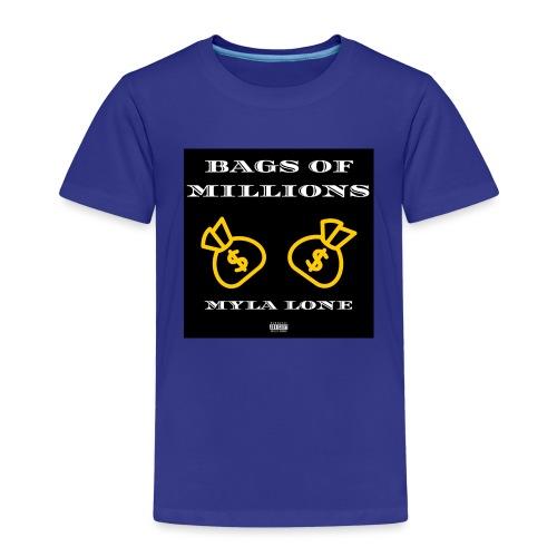 Bags Of Millions Lone - Kinder Premium T-Shirt