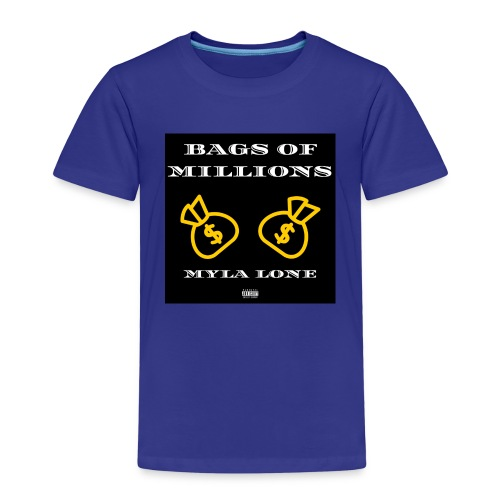 Bags Of Millions Lone - Kinder Premium T-Shirt