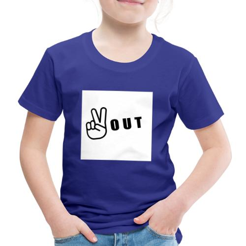 JFFC peace out merch - Kids' Premium T-Shirt