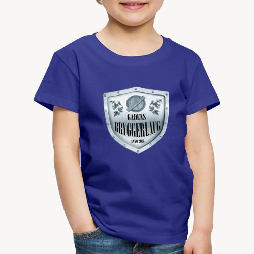 bla gra - Børne premium T-shirt