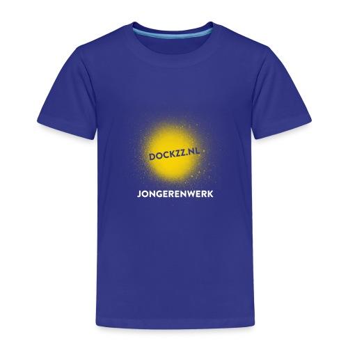 dockzz nl op gele verf jongerenwerk - Kinderen Premium T-shirt