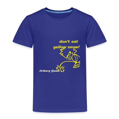 yellow snow - Kinder Premium T-Shirt