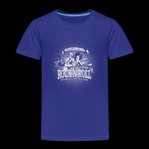 Rock 'n' Roll - Sounds Like Heaven (valkoinen) - Lasten premium t-paita
