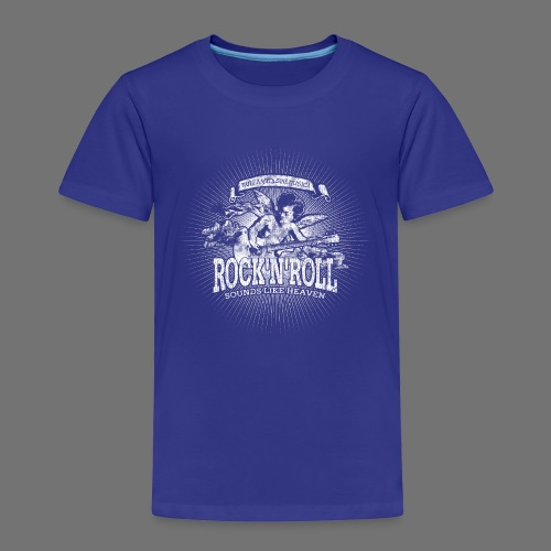 Rock 'n' Roll - Sounds Like Heaven (white) - Kids' Premium T-Shirt