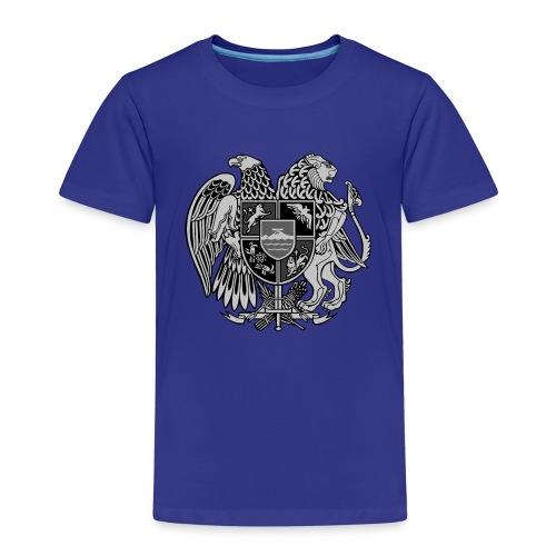 Szary herb Ormiański duży - Koszulka dziecięca Premium
