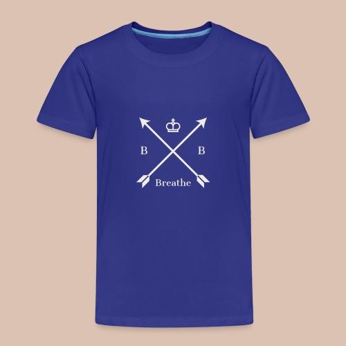 Breathe (Arrow Design) - Kids' Premium T-Shirt