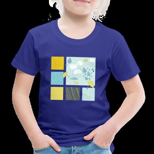 Sommerregen Liebe - Kinder Premium T-Shirt