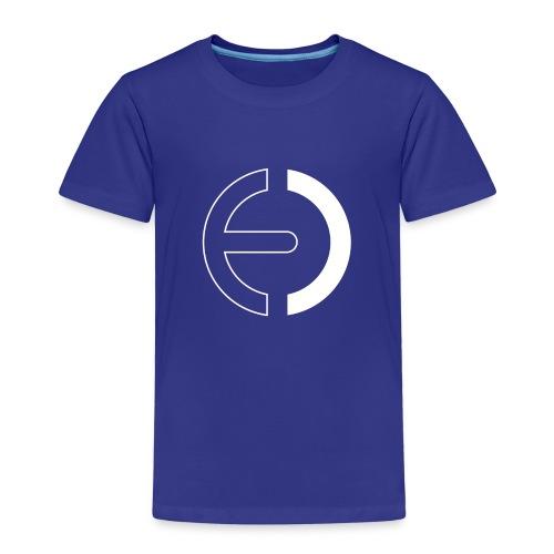 logo white only - Kids' Premium T-Shirt
