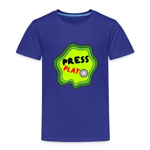Press Play slime - Kids' Premium T-Shirt