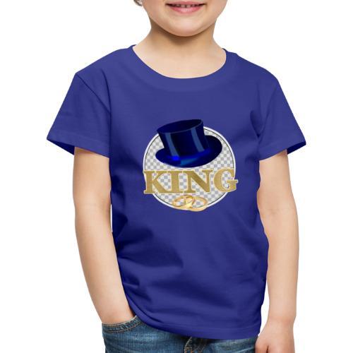 KING mit Hut - Kinder Premium T-Shirt