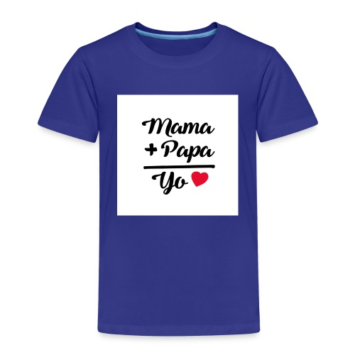 MAMA PAPA YO 1 - Camiseta premium niño