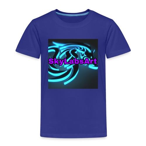 SKYLABSART LOGO - Kinder Premium T-Shirt