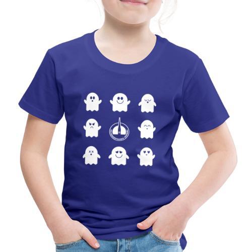 Der Klassiker. Die lustigen Schulgeister in blau - Kinder Premium T-Shirt