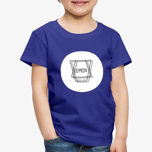 Minimalist Lemon Logo With Background - Premium-T-shirt barn