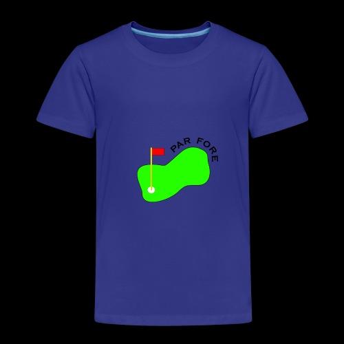PAR FORE LOGO - Kids' Premium T-Shirt