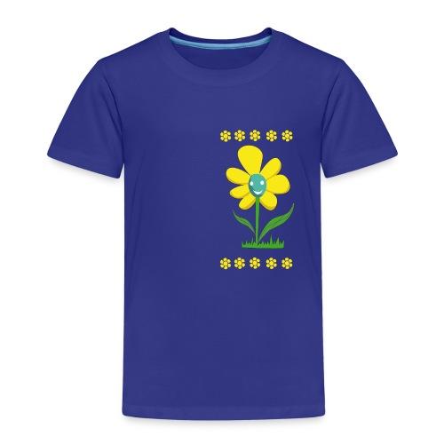 Gelbe Blume - Kinder Premium T-Shirt