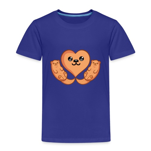 Otter Liebe - Kinder Premium T-Shirt