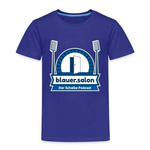 Blauer.Salon Logo Classic - Kinder Premium T-Shirt