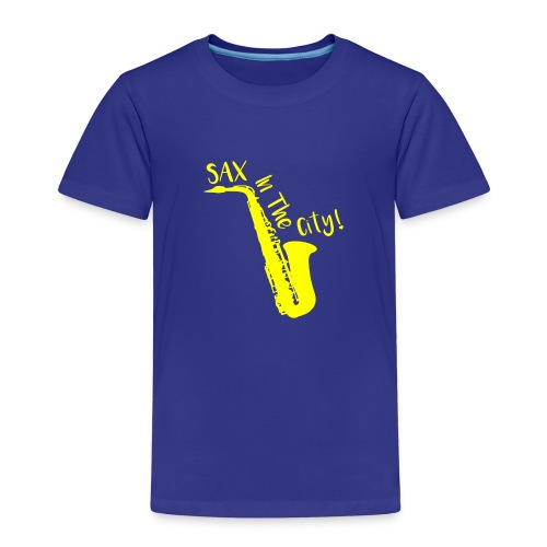 SAX IN THE CITY ! - T-shirt Premium Enfant