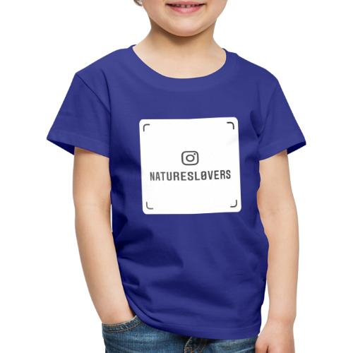 naturesl0vers nametag - Kids' Premium T-Shirt