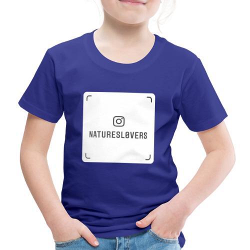 naturesl0vers nametag - Kids' Premium T-Shirt