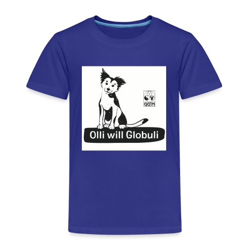 Hund Olli Hintergrund weiß - Kinder Premium T-Shirt