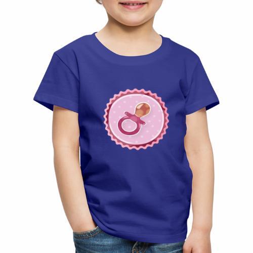 Baby Pacifier - Kinder Premium T-Shirt