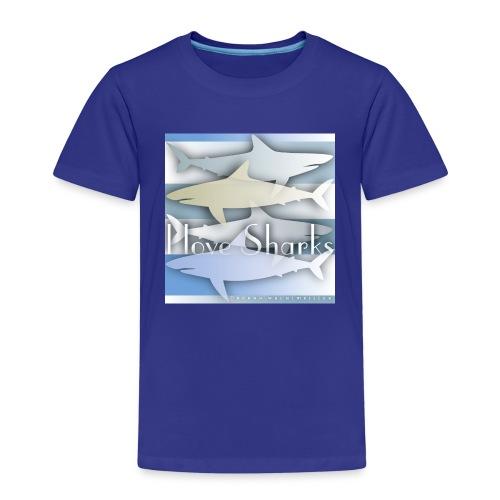 Sharks Shirt - Kinder Premium T-Shirt