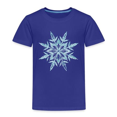 Weihnachten Eiskristall - Kinder Premium T-Shirt