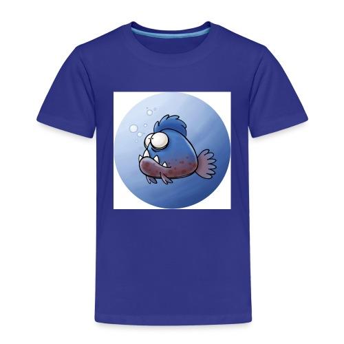 Piranha Button - Kinder Premium T-Shirt
