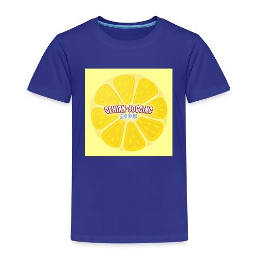 zitronetextur - Kinder Premium T-Shirt