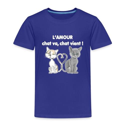 l'amour des chats - T-shirt Premium Enfant