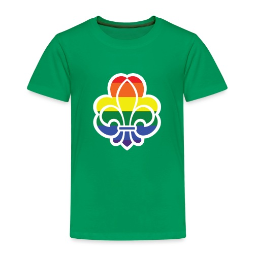 Regnbuespejder jakker og t-shirts mv - Børne premium T-shirt