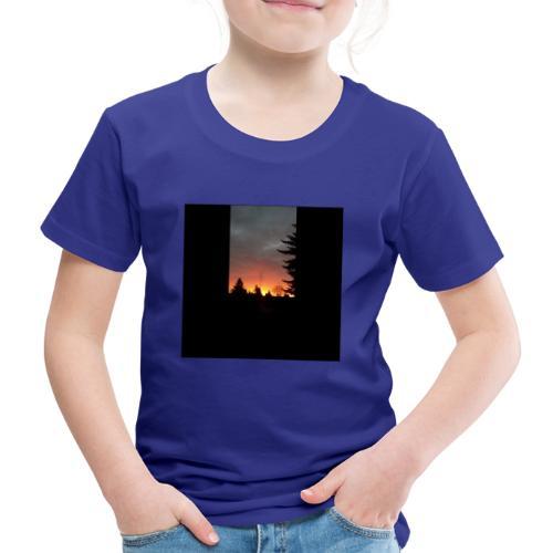 Morgenrotdrama Small Short - Kinder Premium T-Shirt
