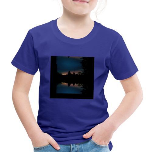 Gott ist gut - Sonnenhorizont Spiegelung Berliner - Kinder Premium T-Shirt