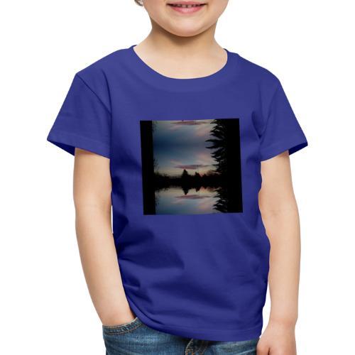 Sonnenhorizont Spiegelung Ufowolke - Kinder Premium T-Shirt
