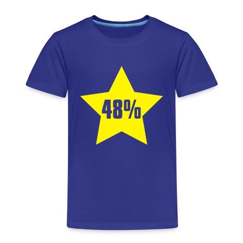 48% in Star - Kids' Premium T-Shirt