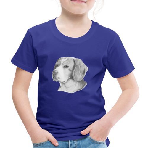 beagle M - Børne premium T-shirt