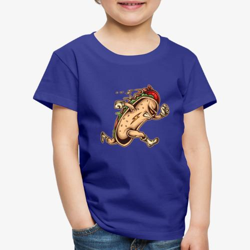 Hot Dog-Held - Kinder Premium T-Shirt