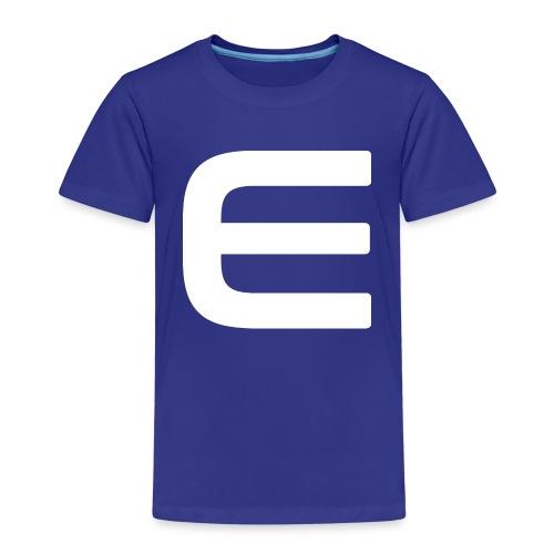 E - White - Kinder Premium T-Shirt