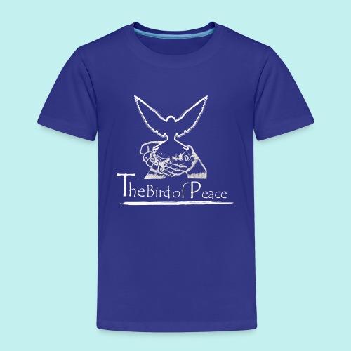 Bird of Peace white - Kinder Premium T-Shirt